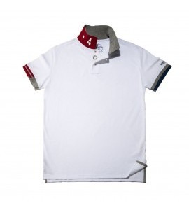 Speedometer Official polo shirt, white