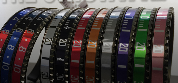 Bracciali in DLC nero Speedometer Official