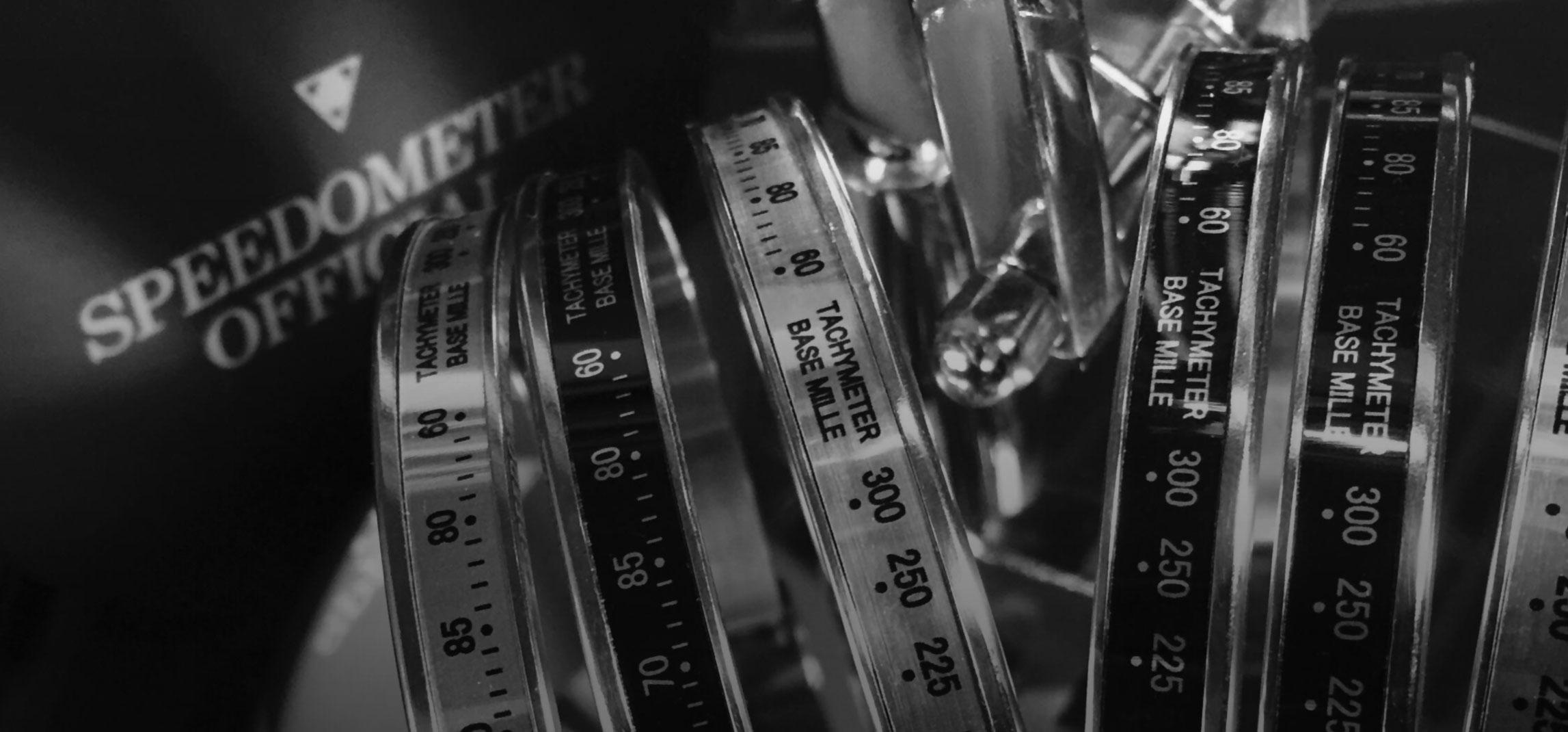 Bracciali collezione Chrono Speedometer Official